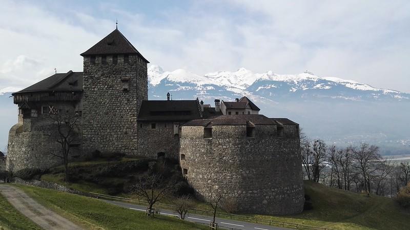 Schloss Vaduz Liechtenstein