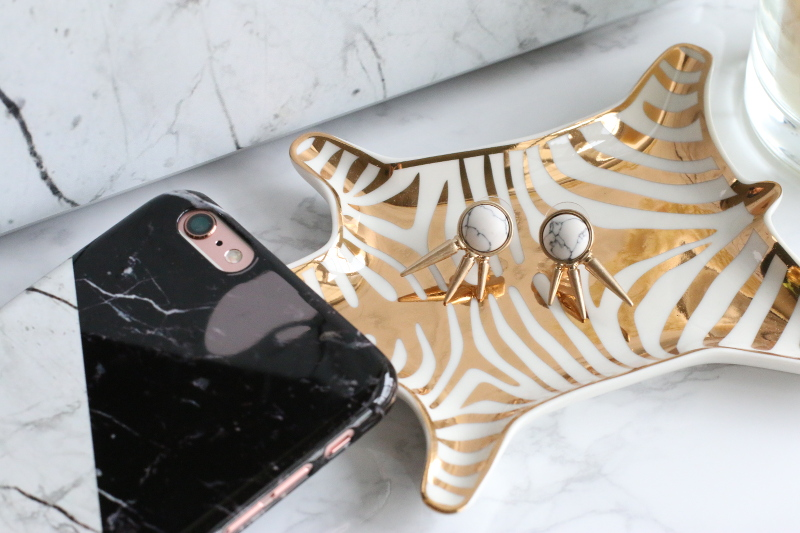 marble obsession, earrings, laptop skin, iPhone case