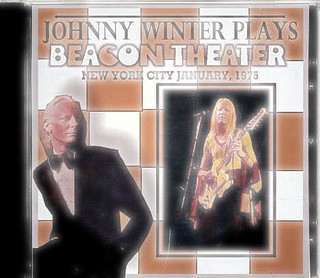 Johnny Winter Live at Beacon Theater NYC