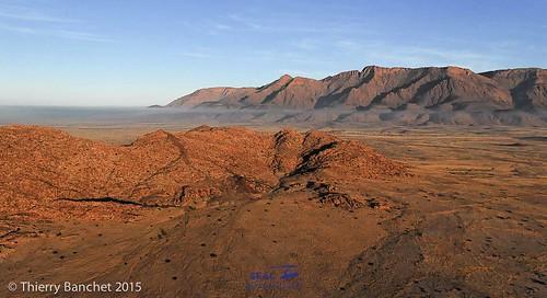 Expédition paramoteur en Namibie