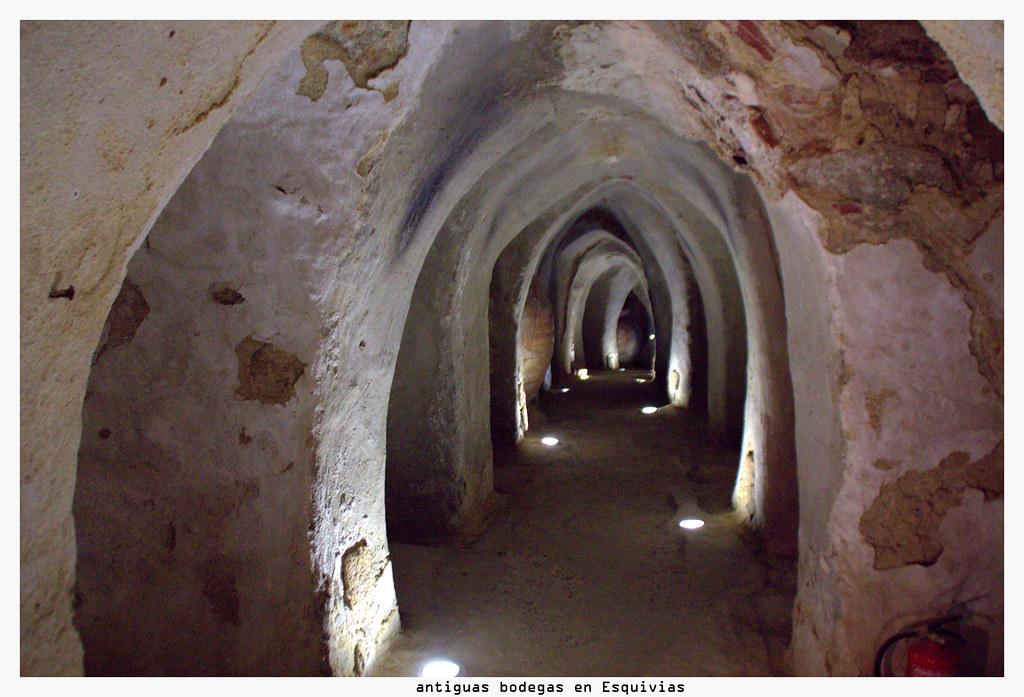 Antiguas bodegas en Esquivias (Toledo)