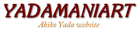 YADAMANIART Akiko Yada Website