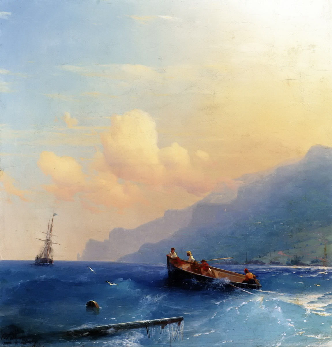Searching for Suvivors by Ivan Aivazovsky, 1870