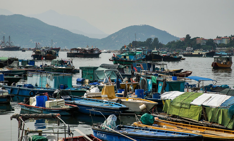 Boats in Cheung Chau