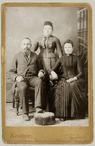 cabinet card trio