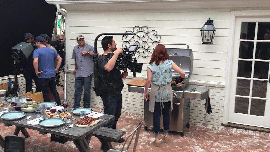 Weber Genesis Commercial Shoot BTS