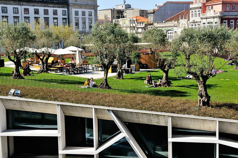 Jardim Das Oliveiras: Porto\'s Urban Rooftop Garden | Gail at Large