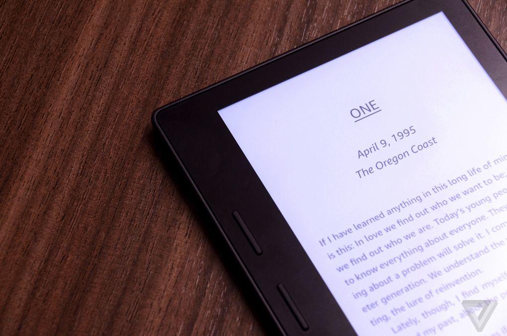 características del Kindle Oasi