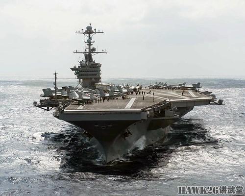 """""""斯坦尼斯""""号航母编队隶属于美国海军第七舰队,维护美国及其盟友在"""