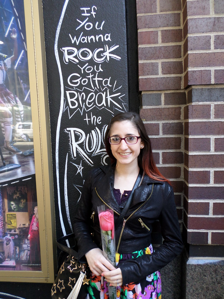 School of Rock on Broadway.