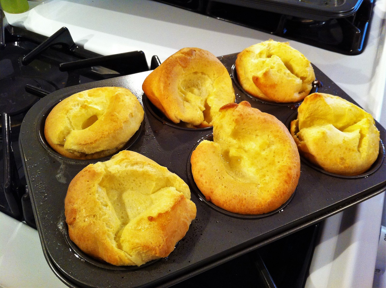 Yorshire Puddings. Credit skevbo, flickr