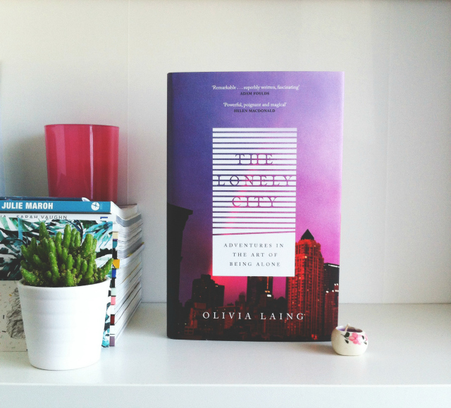 uk lifestyle blog vivatramp bookbuddyathon book blog the lonely city olivia laing