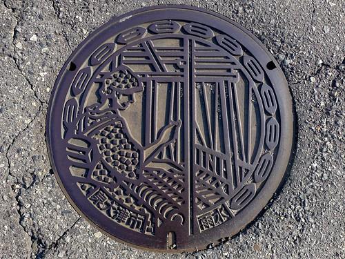 Izumiotsu Osaka, manhole cover 2 (大阪府泉大津市のマンホール2)
