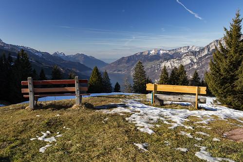 switzerland flumserberg churfirsten 2015 cantonofstgallen tannenbodenalp lakewalenstadt churfirstenmountainrange