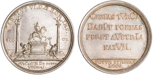 1718 New year medal