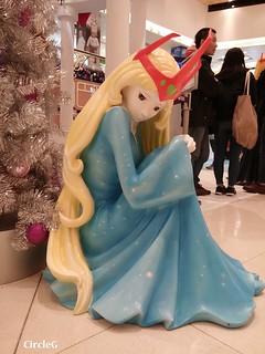 將軍澳 坑口 東港城 HONGKONG 松本零士 幻想時空 2015 CIRCLEG 聖誕裝飾 (3)