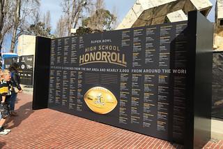 Super Bowl City - Honor Roll