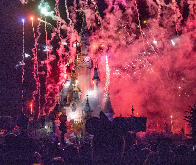 Disneyland paris New Year's Eve