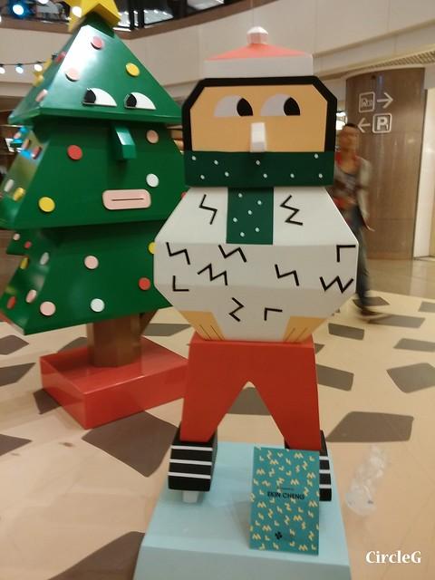 港威中心 hongkong tst 尖沙咀2015 CIRCLEG 聖誕裝飾  (5)