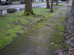 Georgetown sidewalk
