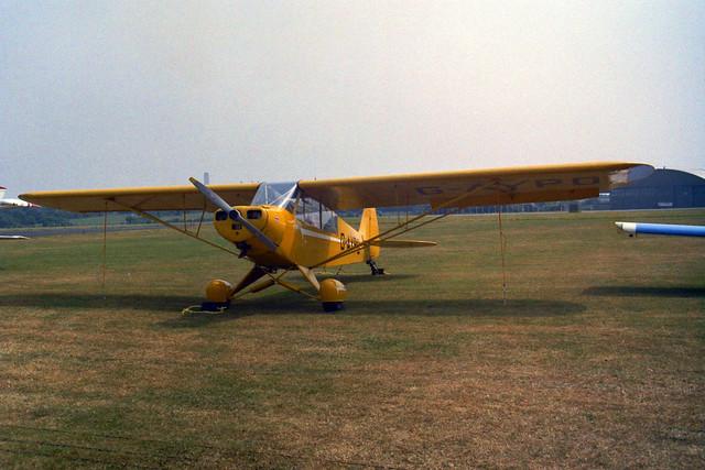 G-APYO Piper PA-18