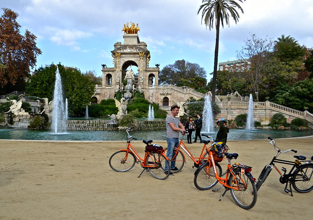 barcelona city tour - citadel park