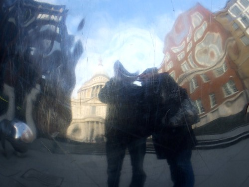 Reflection Self-Portrait Near St Paul's