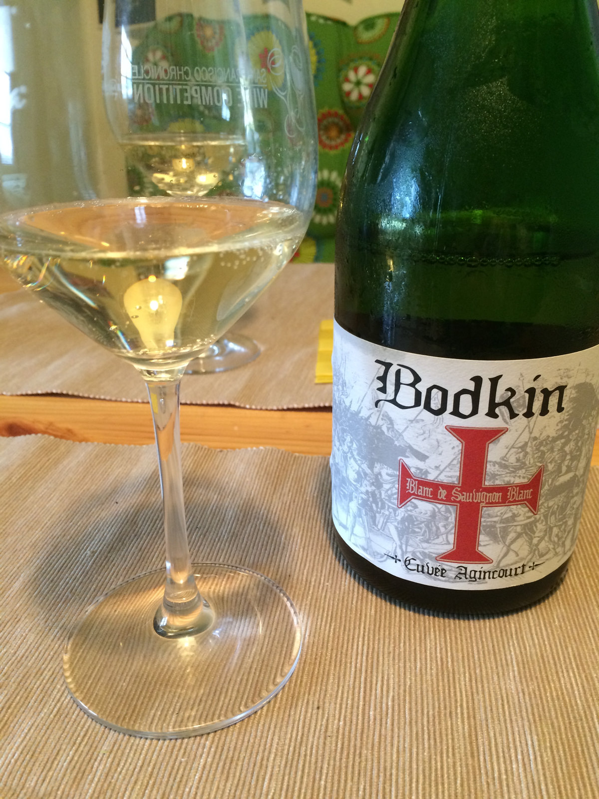 Bodkin Blanc de Sauvignon Blanc and Emmentaler Cheese 2