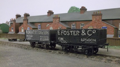 Hand Lettered wagons