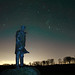 The David Stirling monument and Orion the Hunter