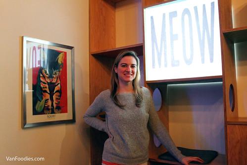 Catfe owner Michelle Furbacher