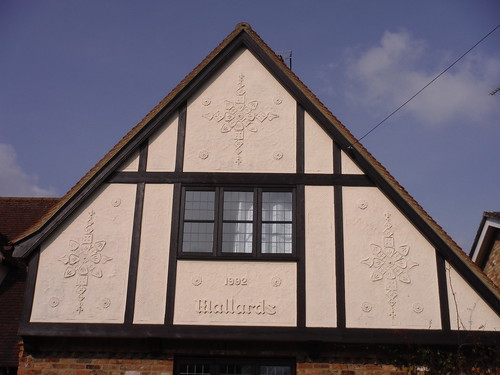 House with pargeting in Wendens Ambo (II)