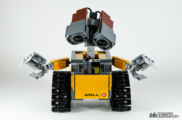 REVIEW LEGO 21303 WALL-E LEGO IDEAS 22