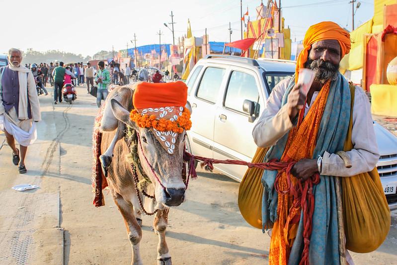 Maha Kumbh Mela festival, India