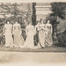 "Small photo of Women in costume performing ""The Merchant of Venice"""