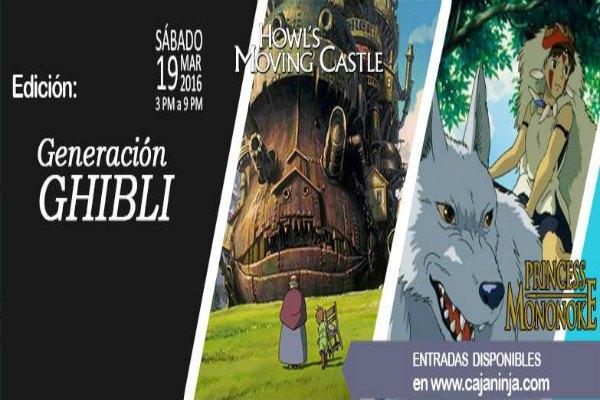 Evento Ninja: Edición Generación Ghibli