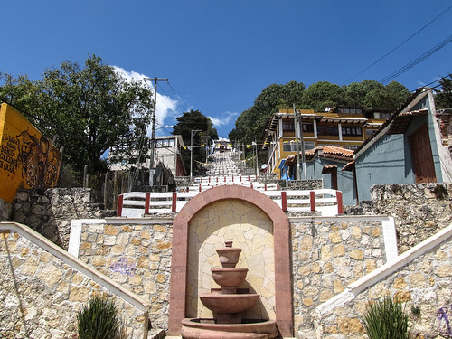 San Cristóbal de las Casas: la colline San Cristóbal