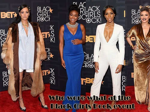 Who wore what at the Black Girls Rock event 2016