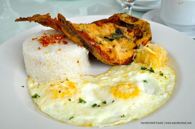 Filipino Breakfast Estancia Resort Hotel