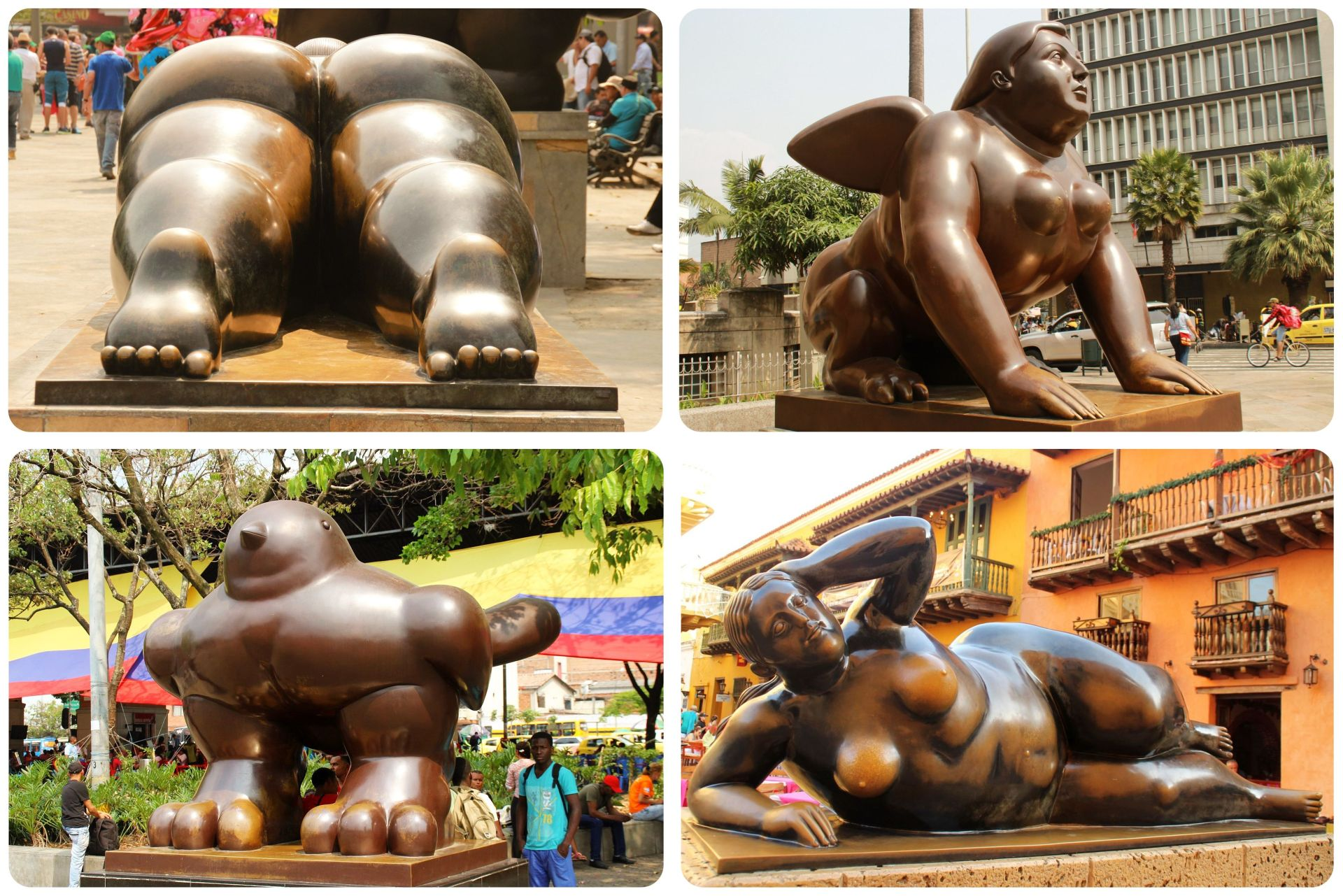 Botero Sculptures Colombia