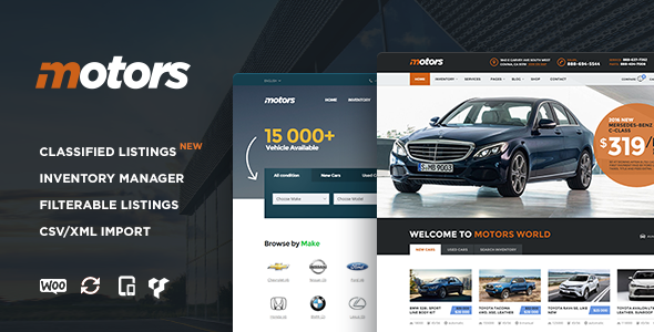 Motors v2.3 - Car Dealership WordPress Theme