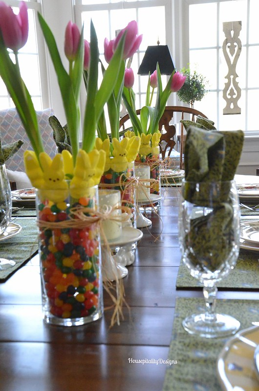 Easter/Spring Tablescape - Housepitality Designs