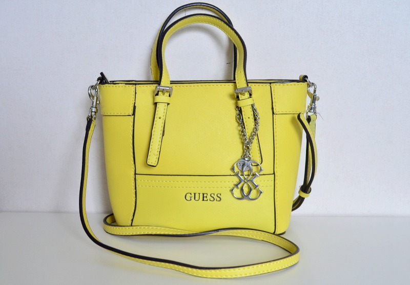 yellow bag guess