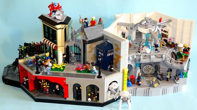 Doctor Who Diorama TARDIS