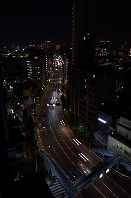Night, in Tokyo