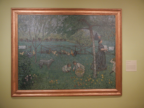 Pierre Bonnard, Legion of Honor, SF - The Large Garden _ 1841