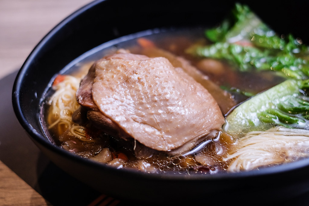 Face To Face Noodle House: Genki Herbal Chicken Soup Pan Mee
