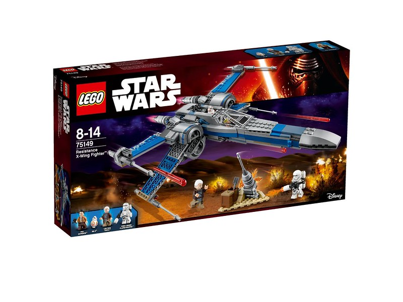 LEGO Star Wars set 2016: 75149 - Resistance X-Wing Fighter