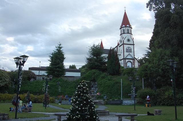 Park near Iglesia Sagrado Corazón, Puerto Varas, Chile