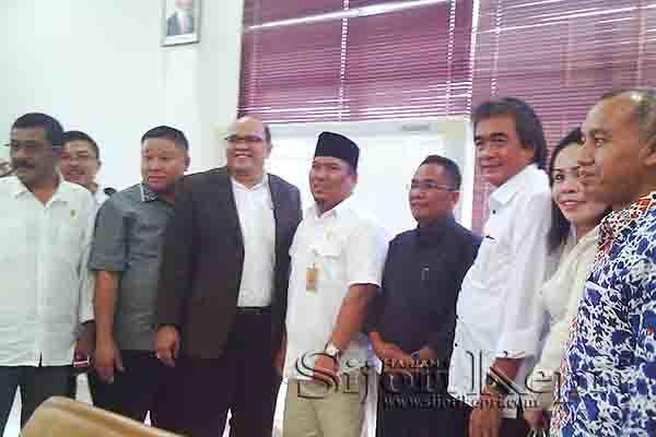 Nyanyang dan Anggota DPRD Batam